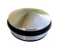 Στόπερ δαπέδου με λάστιχο ανοξείδωτο