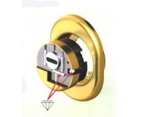 Προστατευτικό κυλίνδρου (defender) για πόρτες ασφαλείας Monolito Kripton BKS200, με μπάρες καρβιδίου