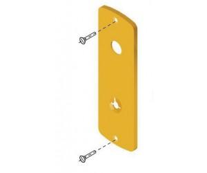"""Διακοσμητικό για κλειδαριά Omega, Disec A2118, εξωτερικό με """"εμφανείς"""" βίδες"""