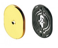 Διακοσμητικό για κλειδαριά Omega, Disec KT2112, εξωτερικό μικρό με πλαστική βάση