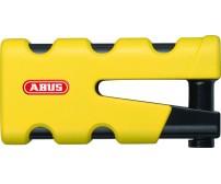 Λουκέτο Δισκόπλακας Abus 77 Granit Sledg κίτρινο, με νέο συρόμενο μηχανισμό