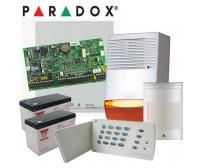 Ολοκληρωμένο σετ ενσύρματου συναγερμού Paradox με κέντρο SP4000 4 ζωνών