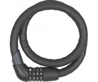 Κουλούρα ποδηλάτου με συνδυασμό  Abus steel-o-flex 1360 Tresor με διπλή ασφάλεια