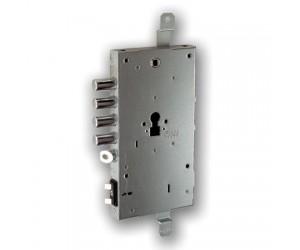 Ηλεκτρομηχανική κλειδαριά ασφαλείας X1R με κύλινδρο κατάλληλη για θωρακισμένες πόρτες από την εταιρία FIAM