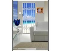 Πτυσσόμενα κάγκελα πόρτας Alu Glide, ιδανικό για τις παράκτιες περιοχές