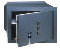 Εντοιχιζόμενο χρηματοκιβώτιο CISA 82210 με μηχανικό κωδικό και κλειδί χρηματοκιβωτίου