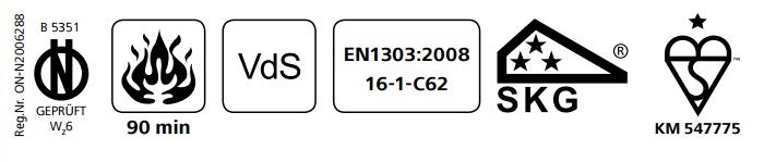 Ολοκληρωμένο σετ κλειδαριάς νέας τεχνολογίας, με κύλινδρο ασφάλειας EVVA 3KS και defender BKS200