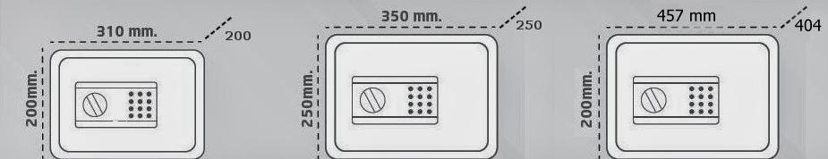 Arregui  Stylo 19000 S1,S2  χρηματοκιβώτιο ξενοδοχειακού τύπου και προσωρινής αποθήκευσης