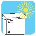 Γραμματοκιβώτιο εξωτερικού χώρου Viometal Βερολίνο