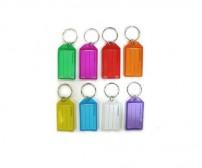 Μπρελόκ ταμπελάκι κλειδιού Color Fluo σε διάφορα χρώματα συσκευασία 96 τεμ.