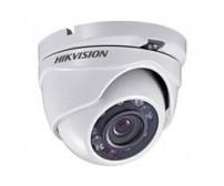 Κάμερα Dome εσωτερικού/εξωτερικού χώρου Hikvision DS-2CE55C2P-IRM, 720TVL, φακός 2.8mm, 12 Led