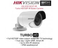 Κάμερα Bullet εξωτερικού χώρου Hikvision DS-2CE16C2T-IR, Turbo HD, ανάλυση 720P