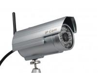 IP WIFI ψηφιακή κάμερα εξωτερικού χώρου Plug n Play,0.3Megapixel StarCam T6815WP