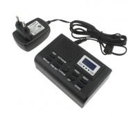 Συσκευή καταγραφής τηλεφωνικών συνομιλιών σε κάρτα SD, με οθόνη LCD , MP3, ρολόι