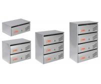 Γραμματοκιβώτιο πολυκατοικιών εξωτερικού χώρου Viometal Φλωρεντία